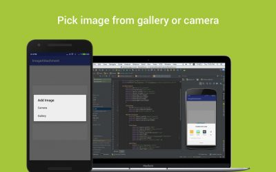 Pick image from gallery or camera