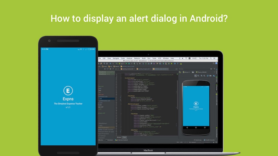 How to display an alert dialog in Android?