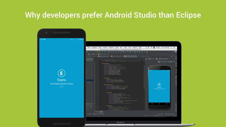 Why developers prefer Android Studio than Eclipse ?