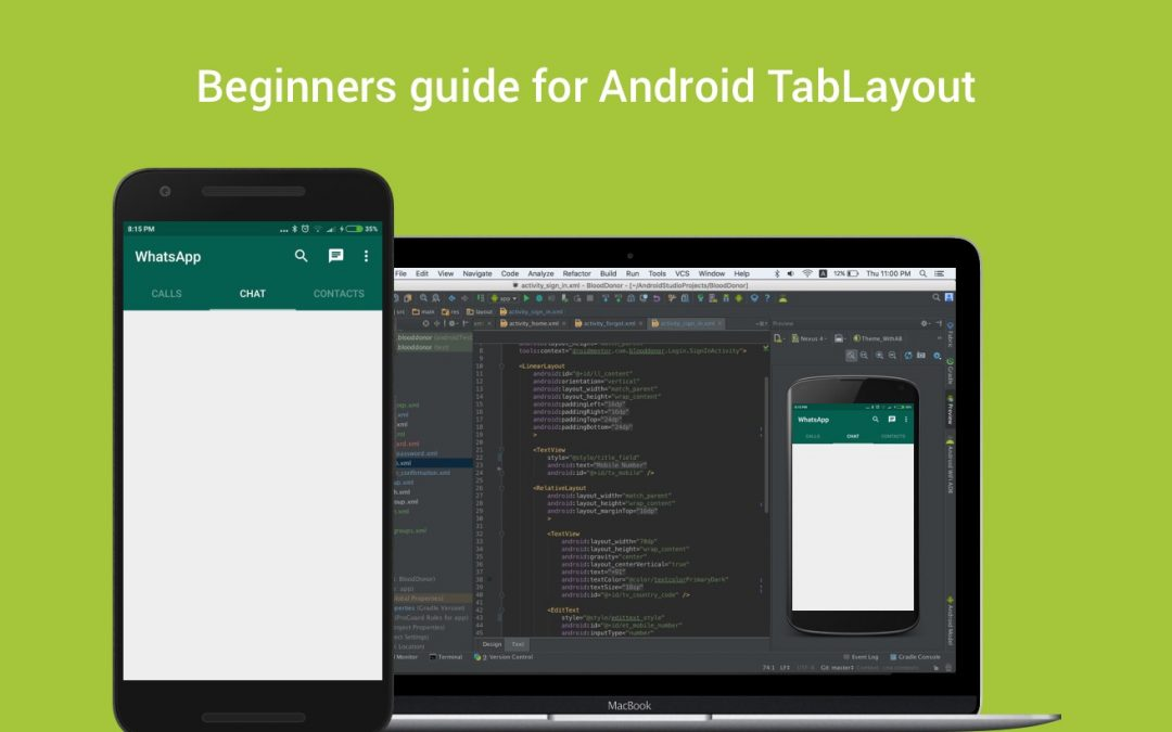 Beginners guide for Android TabLayout