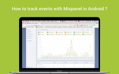 How to track events with Mixpanel in Android ?