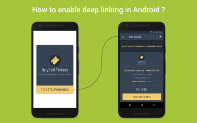 How to enable deep linking in Android ?