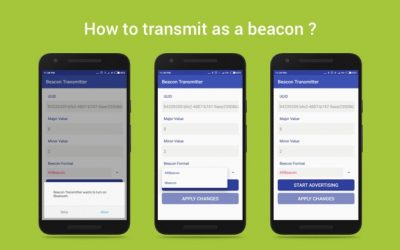 How to transmit as a beacon?