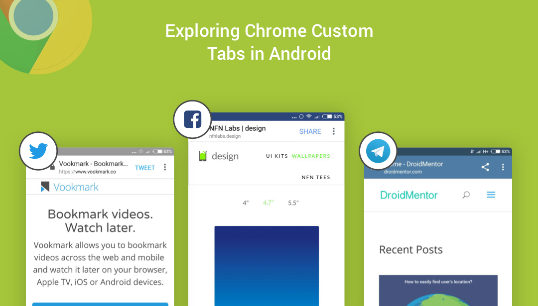 Exploring Chrome Custom Tabs in Android
