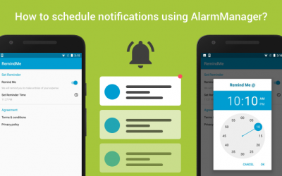 How to schedule notifications using AlarmManager?