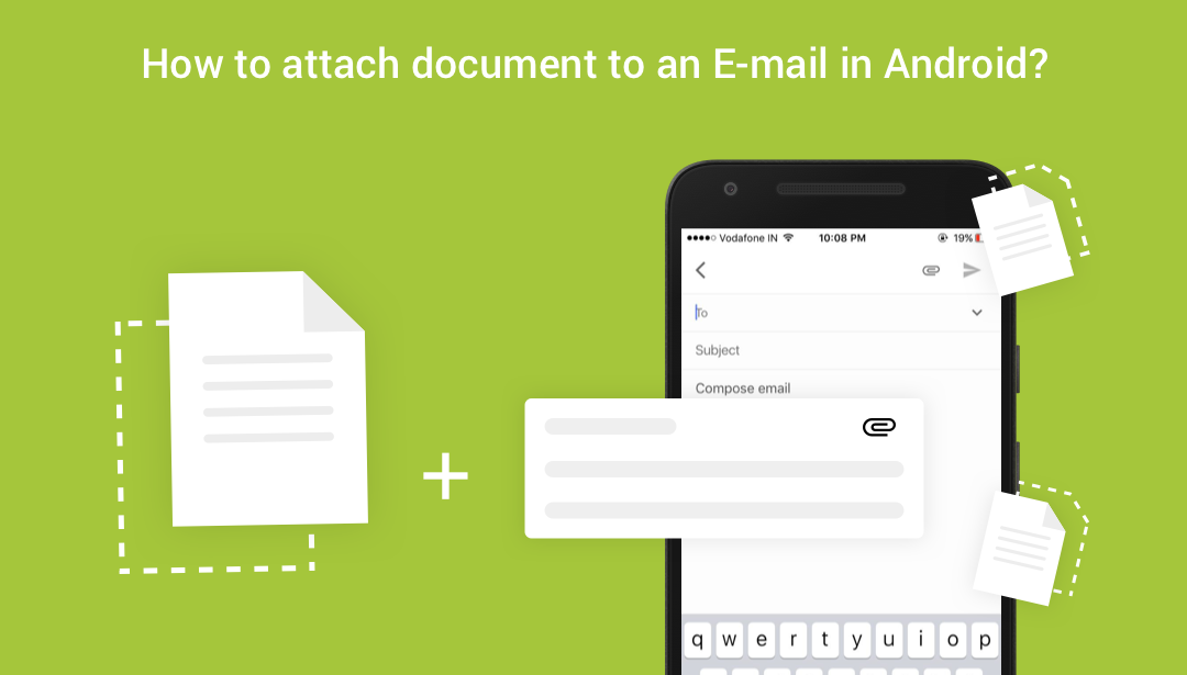 How to attach document to an E-mail in Android?