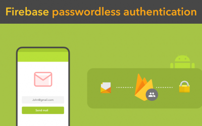 Password-less email auth using Firebase Authentication SDK